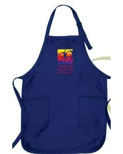Gourmet Apron wPockets Dark Colors