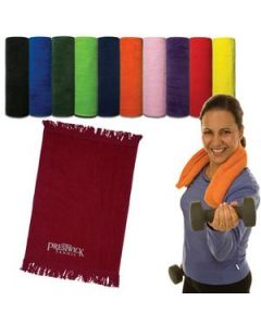 "Velour Sport Towel 11"" x 18"""