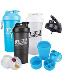 20 Oz SmartShake Original Compartment Fitness Shaker
