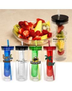 Thirstinator 20 Oz Sipper Tumbler with Infuser