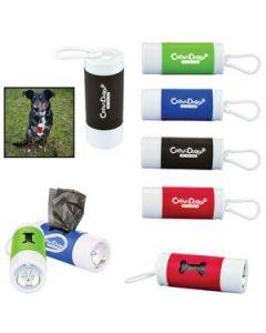 Pet Waste Bag Dispenser w Flashlight