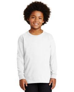 Gildan Youth Ultra Cotton 100 Cotton Long Sleeve TShirt