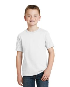 Hanes Youth EcoSmart 5050 Cotton Poly TShirt