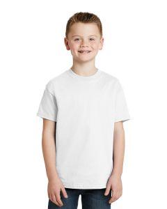 Hanes 6 Oz Youth Tagless 100 Cotton TShirt