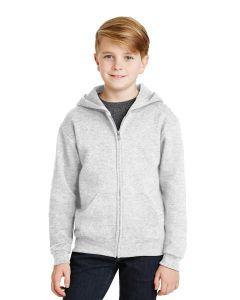 Jerzees Youth Nublend Full Zip Hooded Sweatshirt