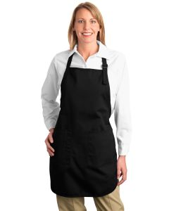 Port Authority Full Length Apron w Pouch Pocket