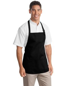 Port Authority Medium Length Apron w Pouch Pocket