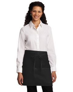 Port Authority Easy Care Half Bistro Apron w Stain Release