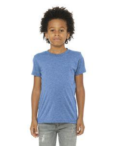 BellaCanvas Youth Triblend Short Sleeve Tee Shirt