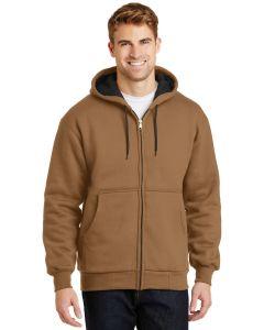 Cornerstone Heavyweight Full Zip Hooded Sweatshirt w Thermal Lining