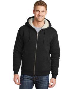 Cornerstone Heavyweight SherpaLined Hooded Fleece Jacket