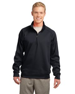 SportTek Adult Tech Fleece 14Zip Pullover Shirt