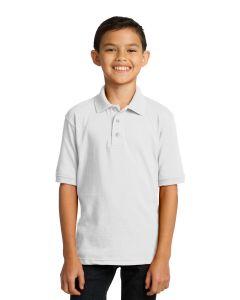 Port  Company Core Blend Youth Jersey Knit Polo Shirt