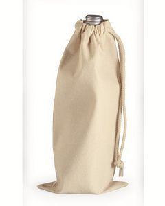 Liberty Bags Drawcord Wine Bottle Bag