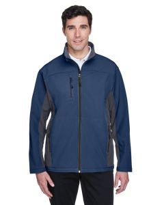 Devon & Jones Men's Soft Shell Colorblock Jacket