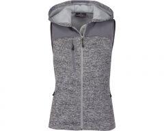 Ladies District Sweater Fleece Vest