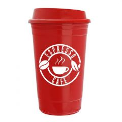 18oz double wall insulated Road Master tumbler