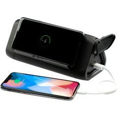 High Sierra Waterproof Speaker w/Wireless Powerban