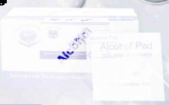 Sterile Alcohol Pads