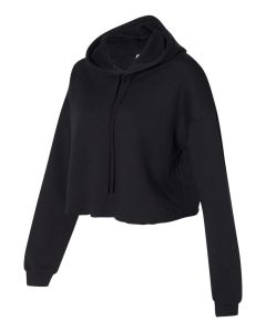 Bella + Canvas Women's Cropped Fleece Hoodie