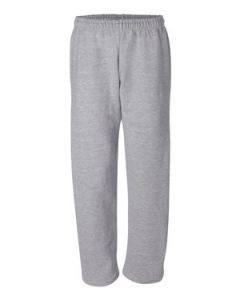 Gildan DryBlend Open Bottom Sweatpants wPocket
