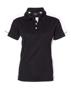 FeatherLite Ladiesapos Color Block Moisture Free Mesh Shirt