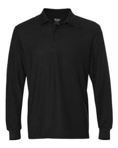 Men's Gildan DryBlend Double Pique Long Sleeve Sport Shirt