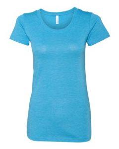 BellaCanvas Ladiesapos Triblend Short Sleeve TShirt