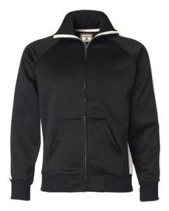 J America Vintage Polyester Fleece Track Jacket