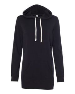 Independent Trading Co Womenaposs Special Blend Hooded Pullover Dress