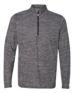 Russell Athletic Striated Quarter Zip Pullover