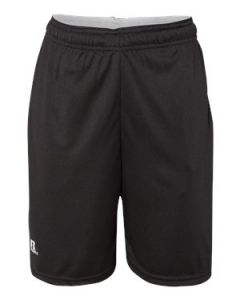 "Russell Athletic Youth 7"" Essential Shorts wPockets"