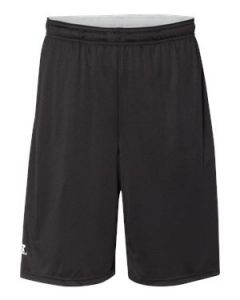 "Russell Athletic 10"" Essential Shorts wPockets"