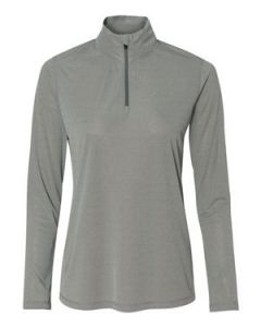 All Sport Womenaposs Quarter Zip Lightweight Pullover Shir