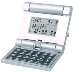 Flip-Over Travel Alarm Calculator